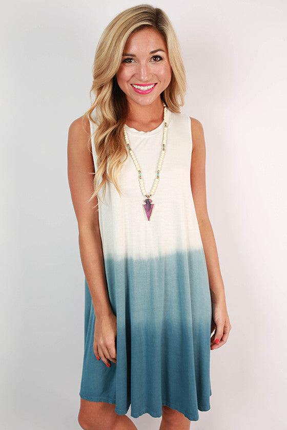Beach Life Ombre Tank Dress