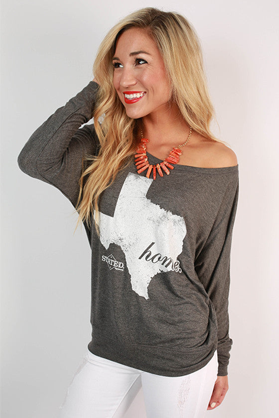 Texas Home Long Sleeve Tee