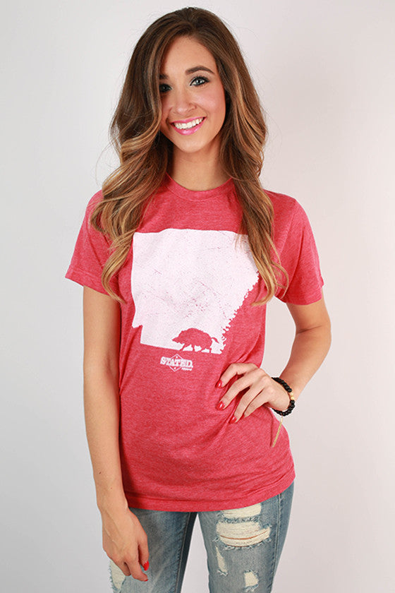 Walking Razorback Tee