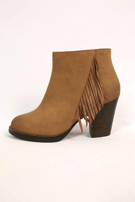Alliance Bootie in Tan