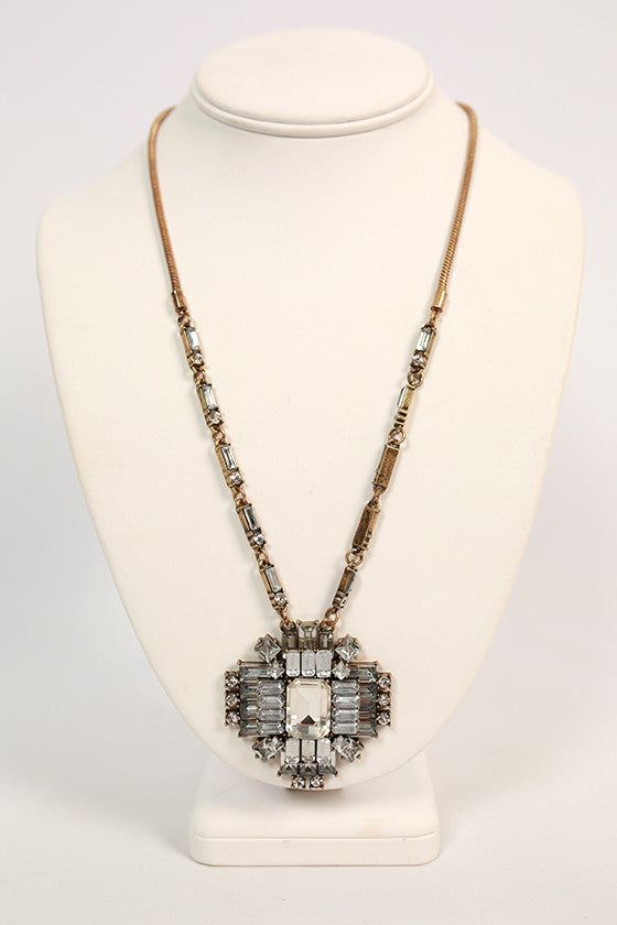 Hollywood Hills Crystal Necklace