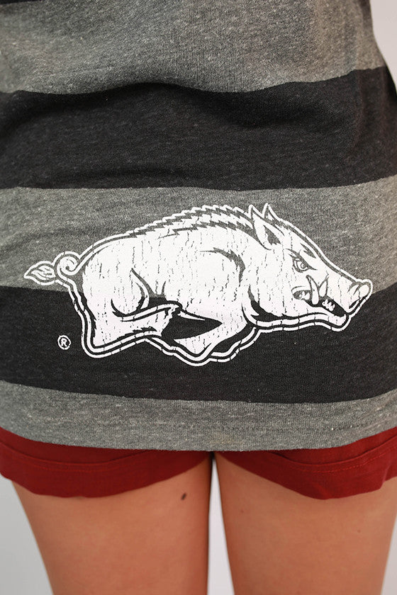 Calling The Hogs Striped Tee