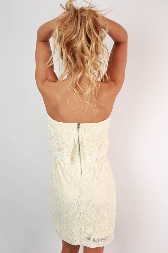 Never Let Me Go Lace Dress
