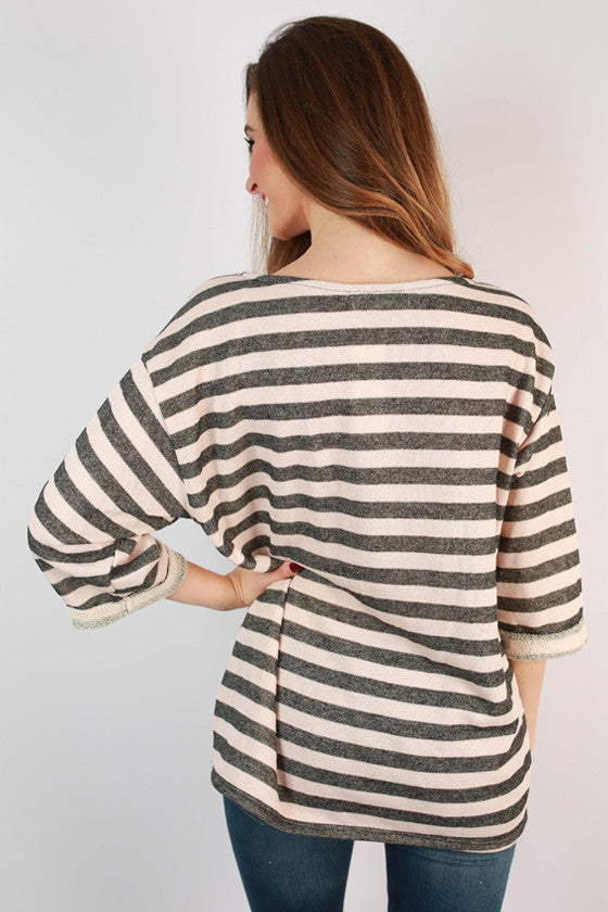 Derby Darling Stripe Top