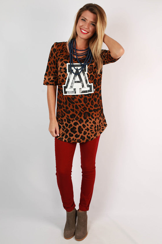 University of Arizona Leopard Tee