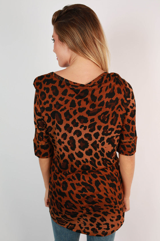 University of Tennessee Leopard Tee