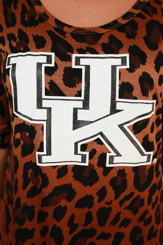 University of Kentucky Leopard Tee