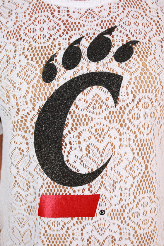 University of Cincinnati Lace Jersey