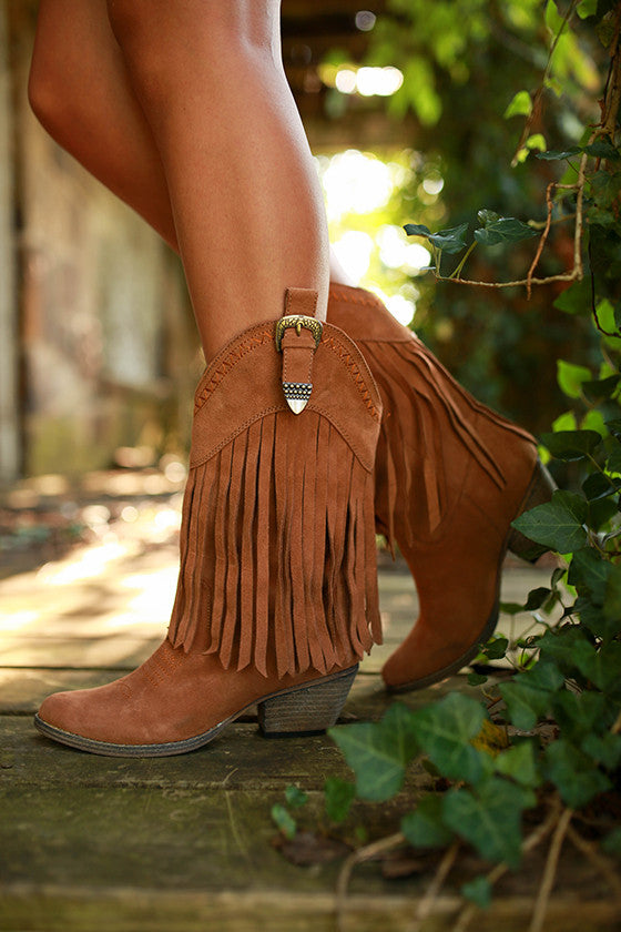 Hillside Boot in Tan