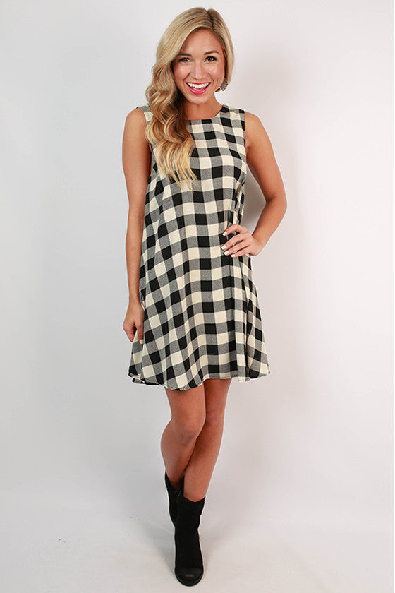 Picnic in the Park Shift Dress