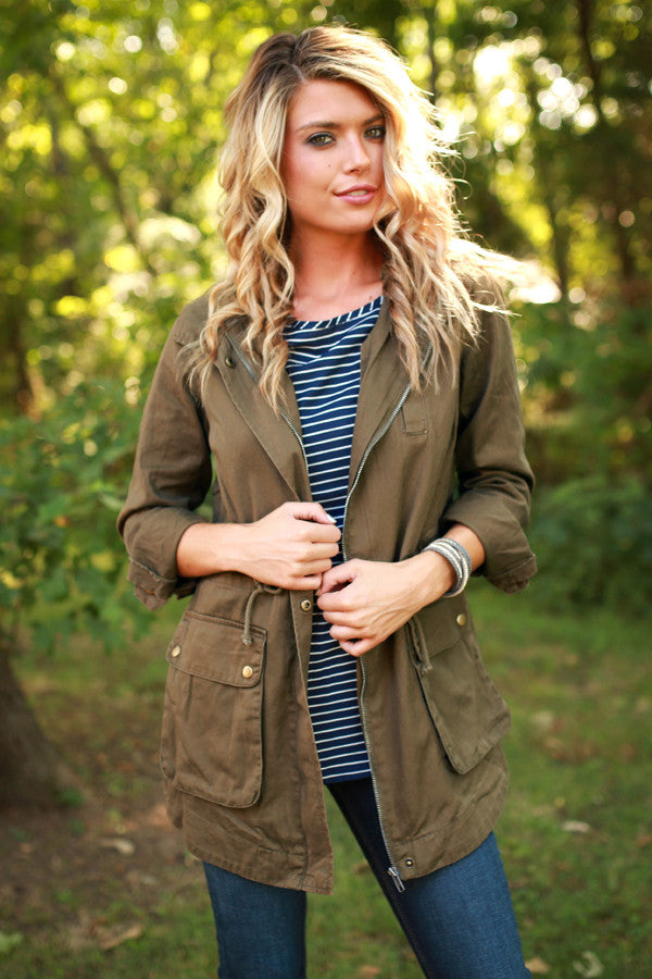 Changing Seasons Cargo Jacket