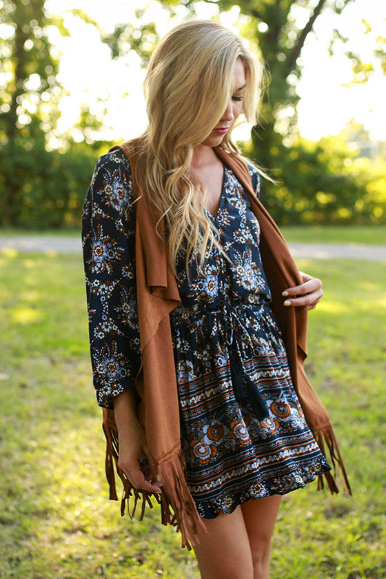 Faithful Fringe Vest