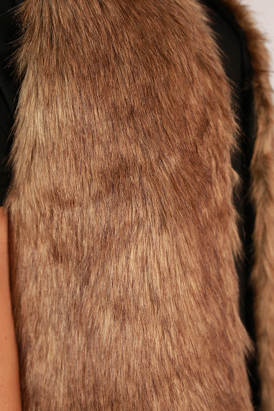 Chic To Keep Faux Fur Vest