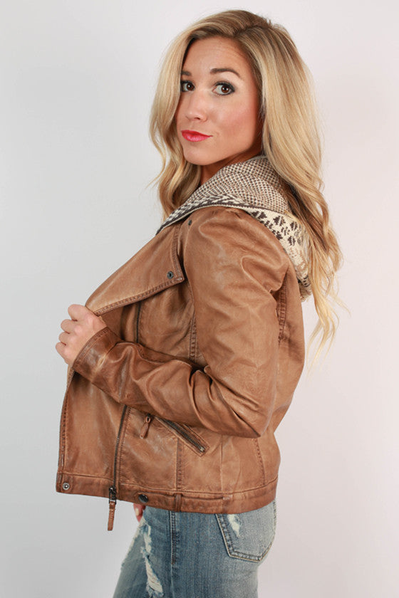Lake Tahoe Leather Jacket
