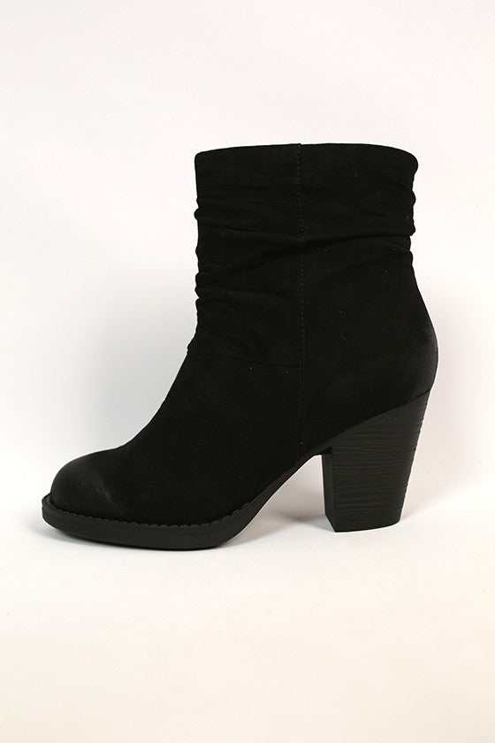 Above and Beyond Bootie in Black