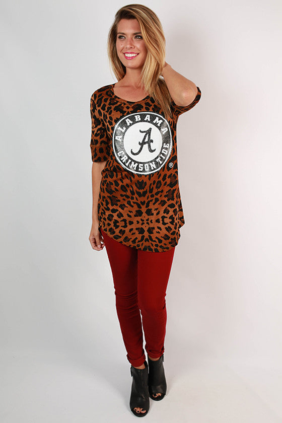 University of Alabama Leopard Tee