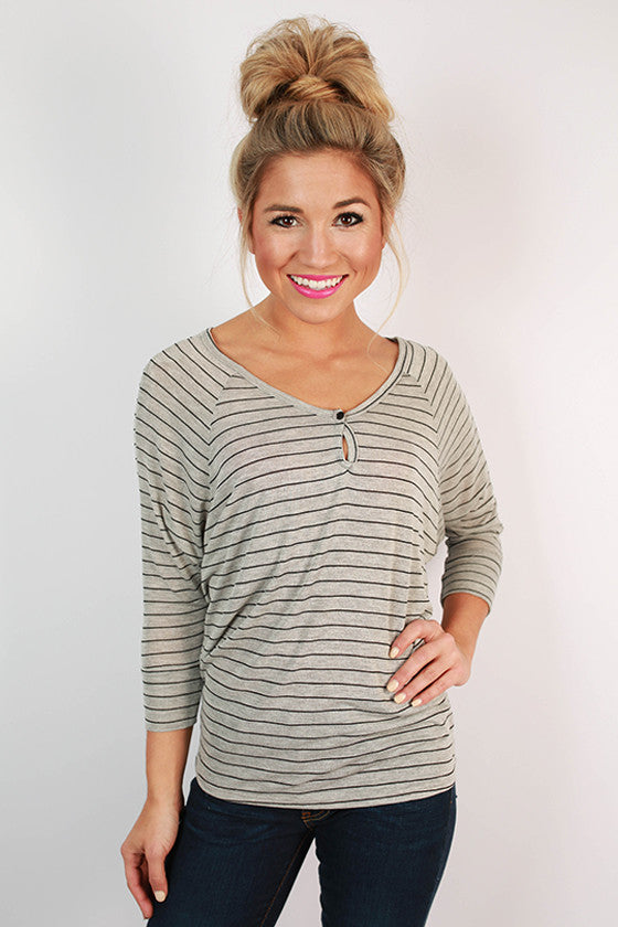 Smores & Stripes Top