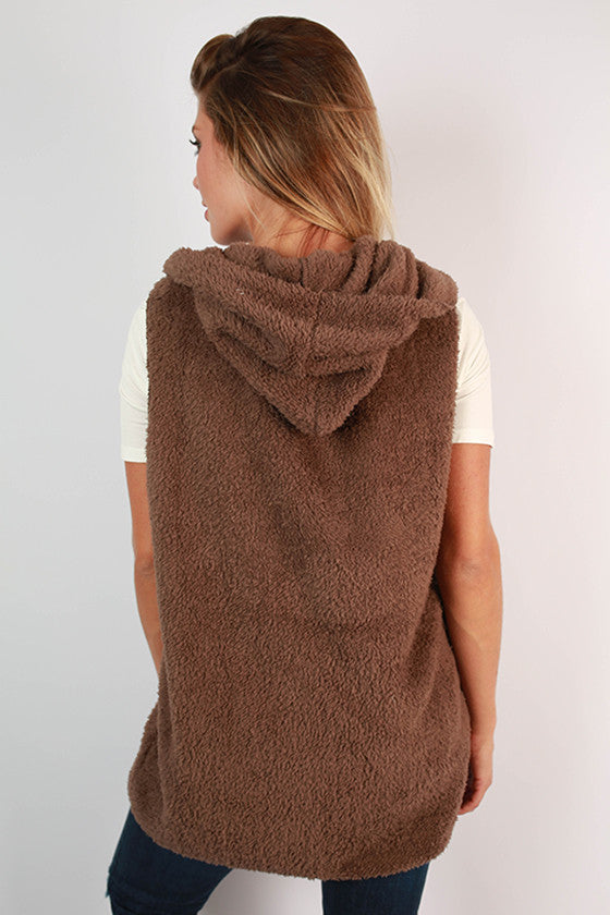 Mocha Latte Ultra Soft Vest