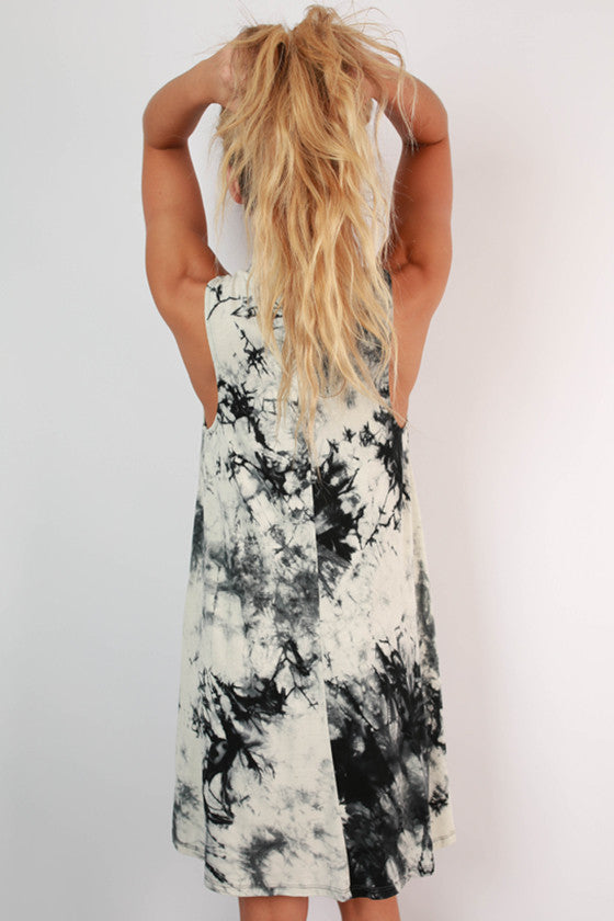 Getaway Time Tie Dye Tank Dress