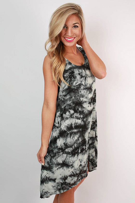 Coast To Coast Gorgeous Hi-Low Tank Dress