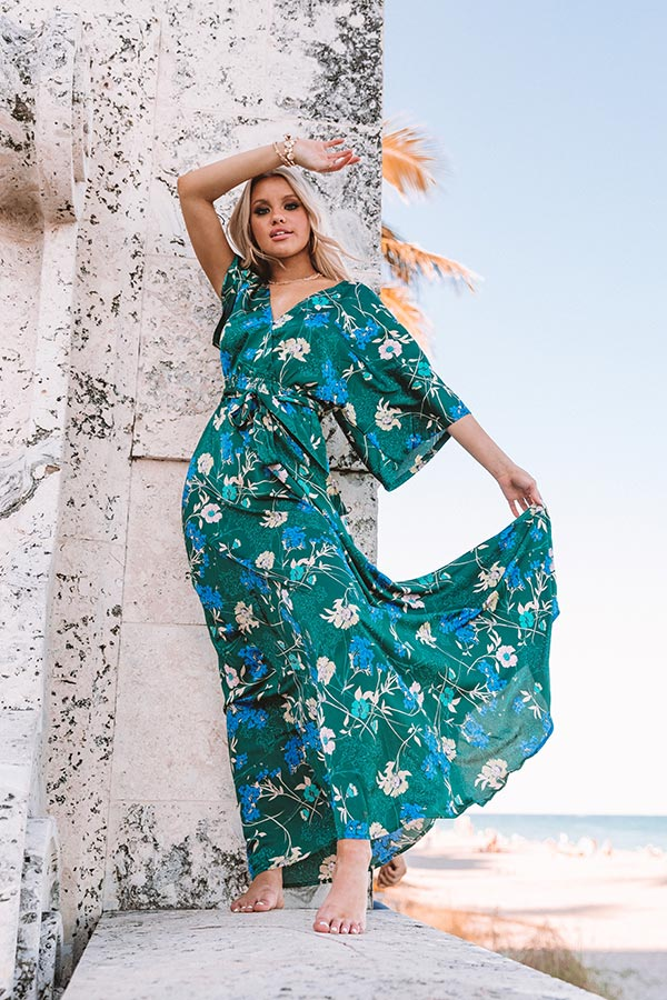Simply Crushing Floral Maxi