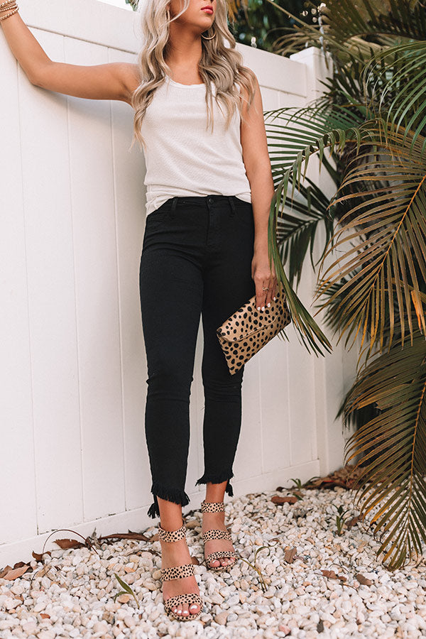 The Sloane High Waist Skinny in Black