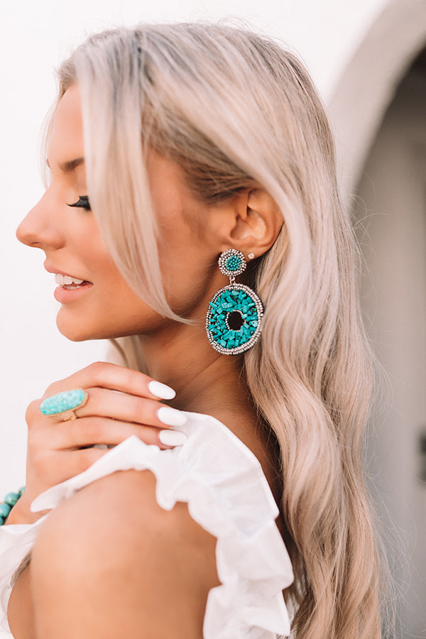 Villa In Venice Beaded Earrings