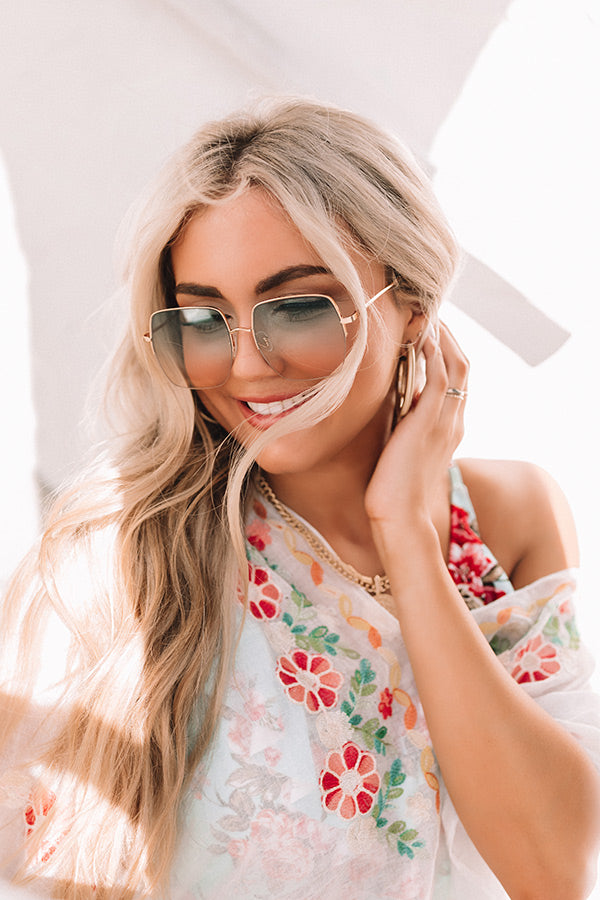 Baja Bombshell Sunnies In Green