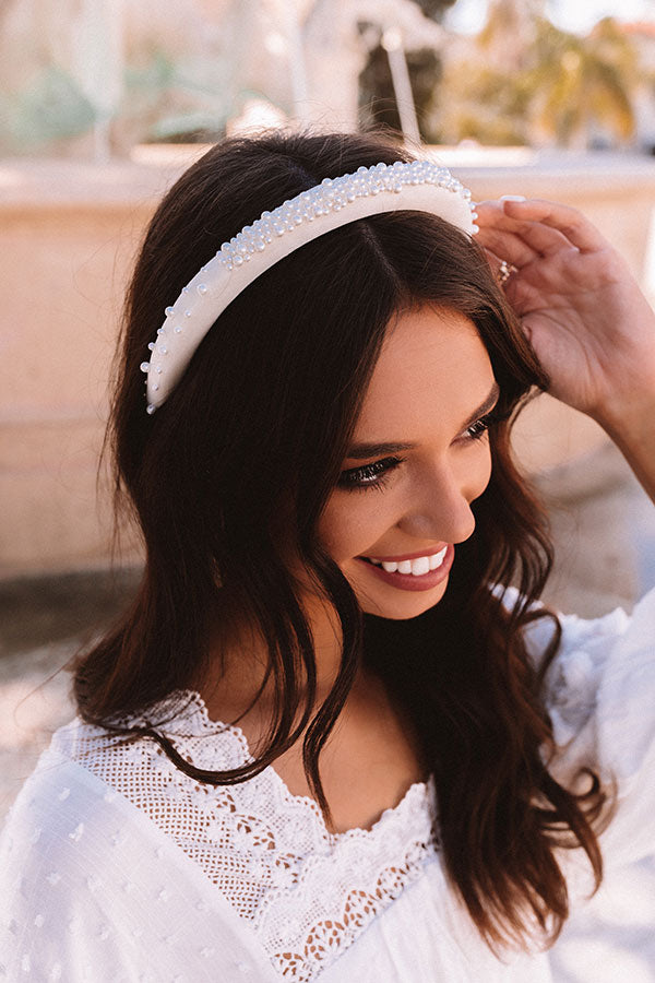 Pretty As A Pearl Headband