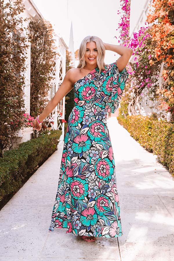 Colada Crush Floral Maxi Dress