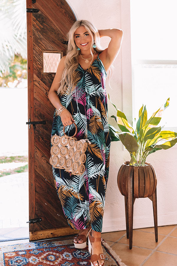 Tropical Delight Maxi Dress
