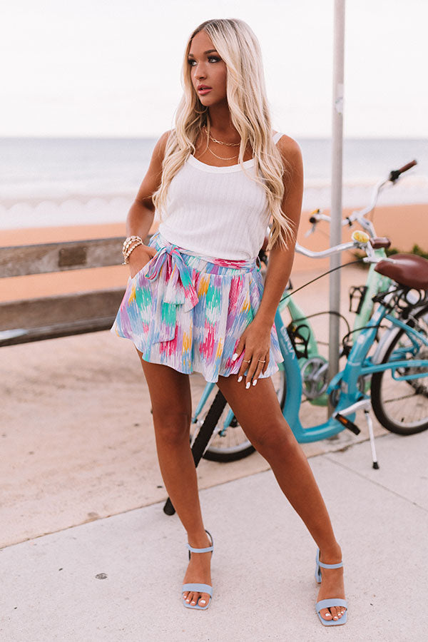 Sweet Attention Shorts in Lavender