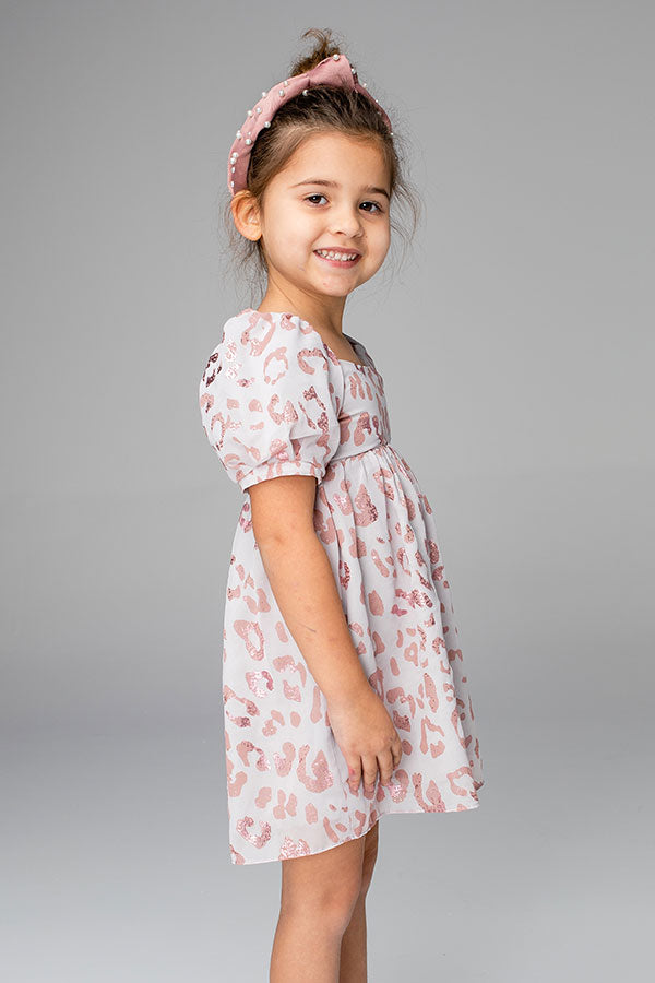 St. Tropez Time Children's Dress in Blush