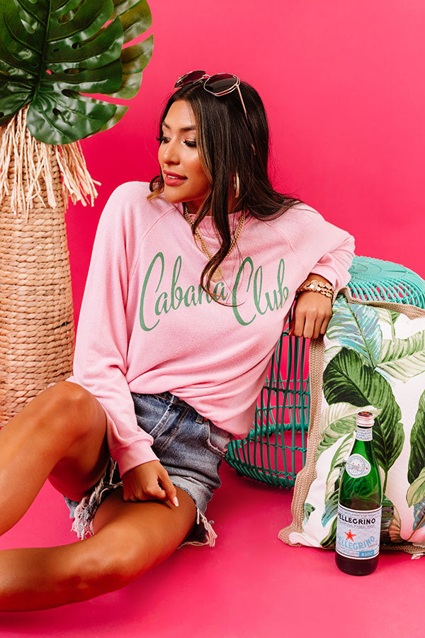 Cabana Club Sweatshirt