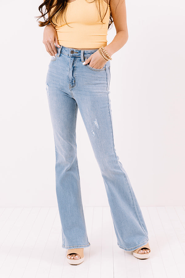 The Ettison High Waist Flares