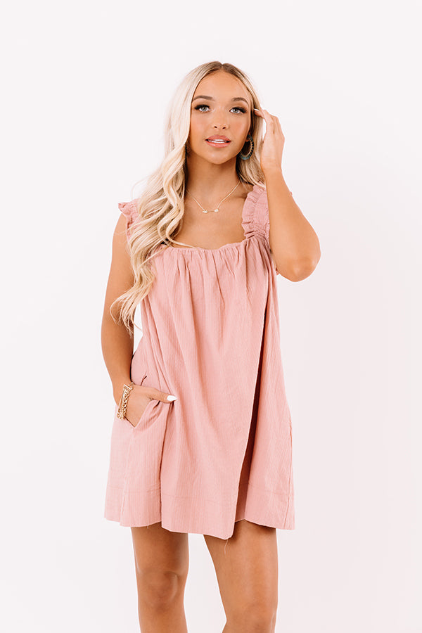 Sunday Sunshine Romper In Blush