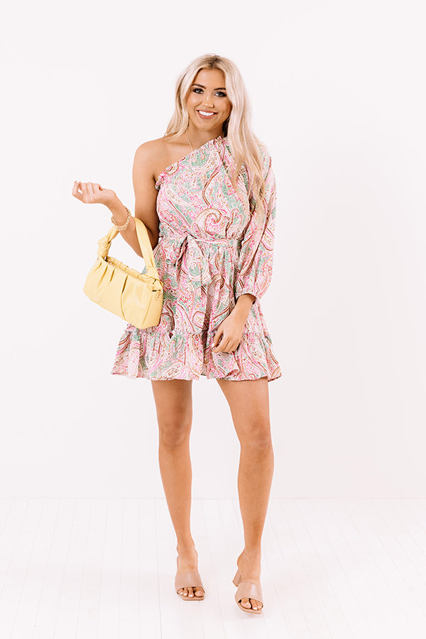 Sweet Gem Paisley Dress