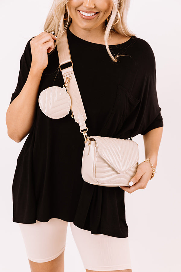 Easy To Love Faux Leather Crossbody