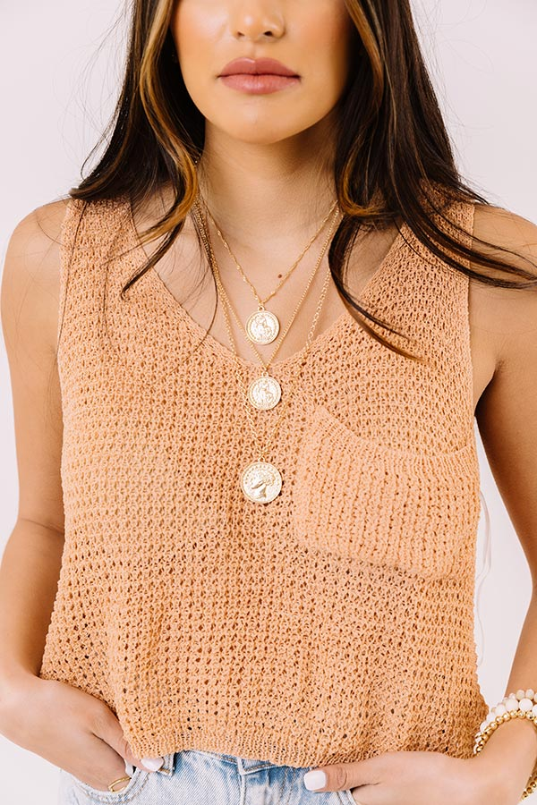 Oxford Weekend Layered Necklace In Gold