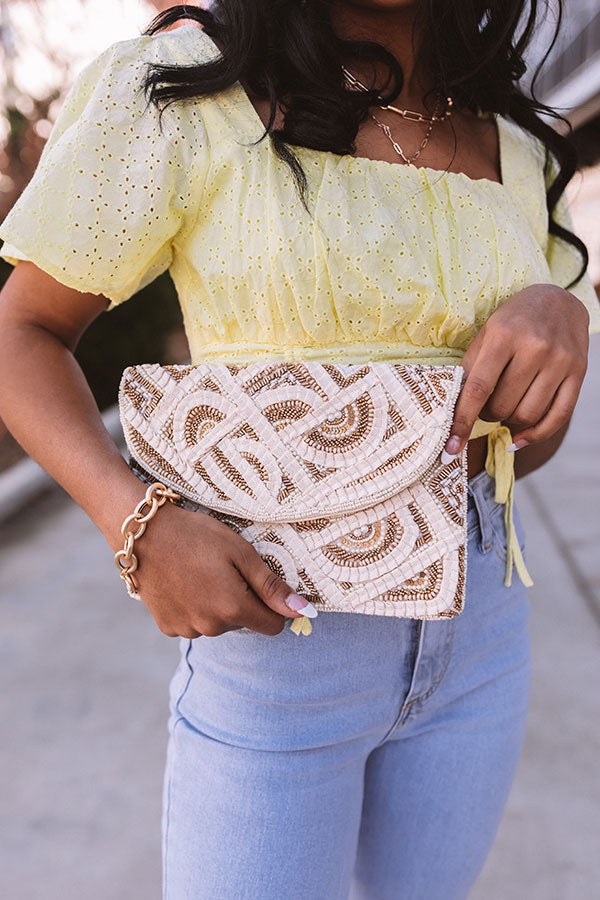 Enchanted Embrace Embellished Crossbody