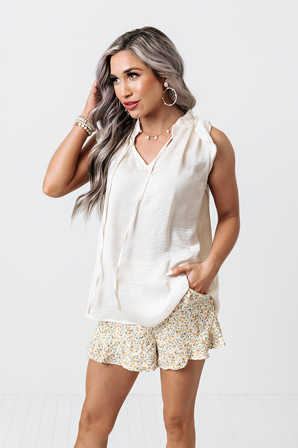 Prelude Shift Top In Ivory