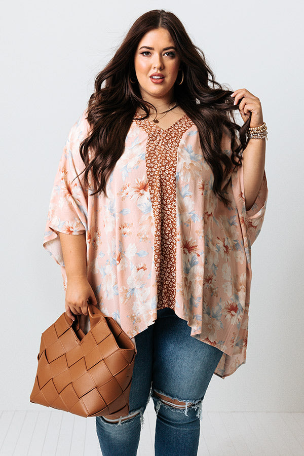Lei One On Me Floral Tunic