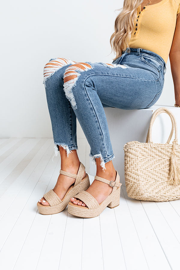 The Eress Jute Heel