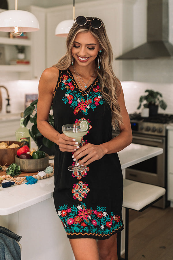 Sophisticated Chic Embroidered Dress