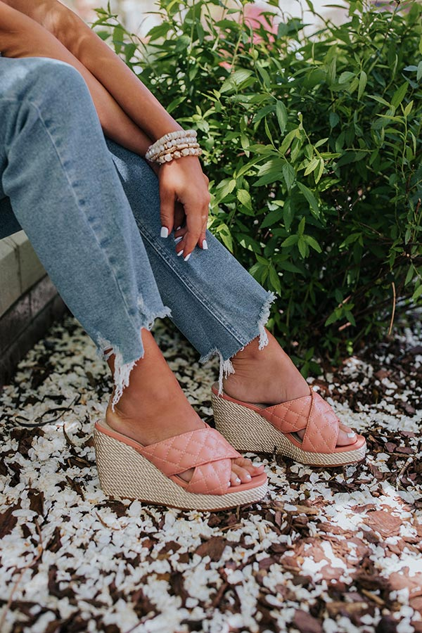 The Ammar Wedge In Blush