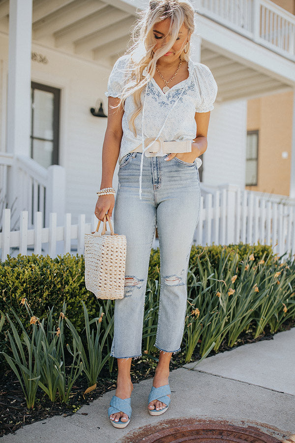The Benton High Waist Relaxed Jean