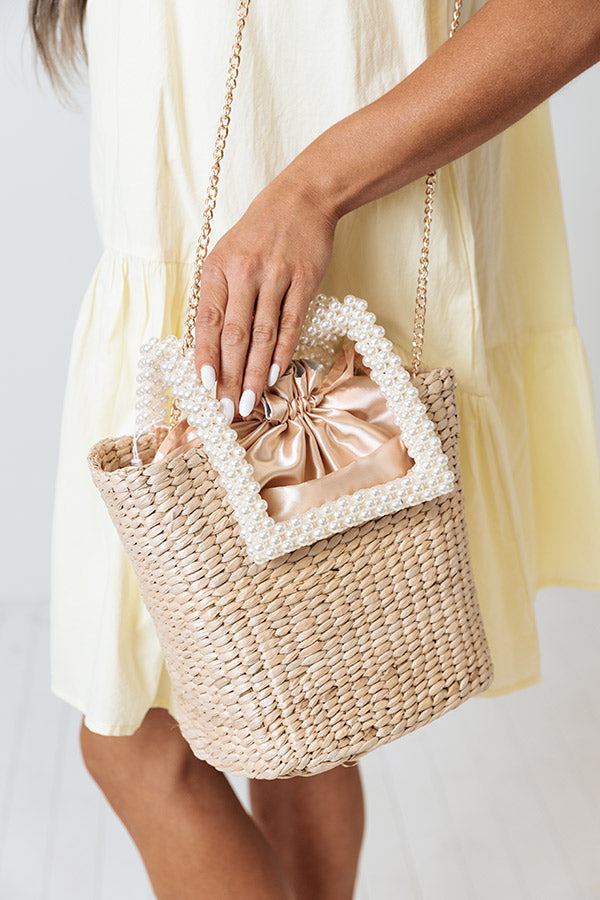 Dreamy And Divine Woven Purse