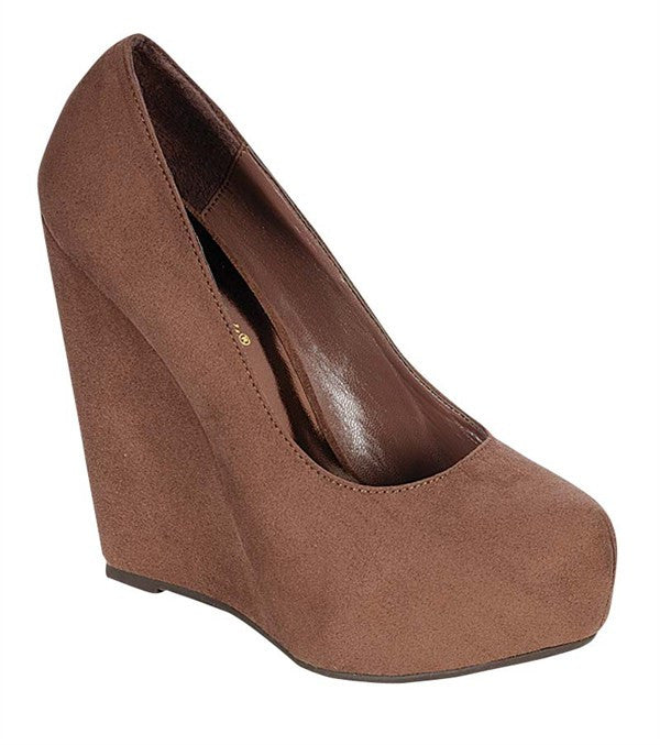 Perfection Wedge Taupe