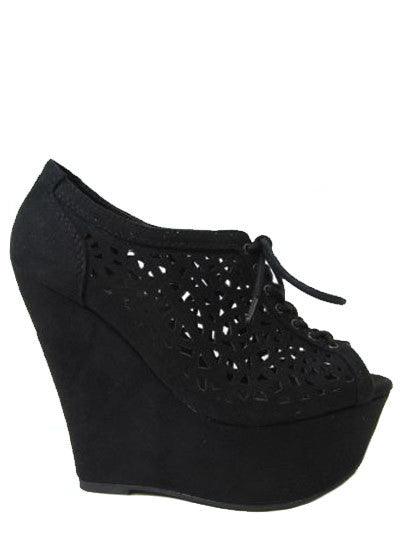 Bryant Park Wedge Black