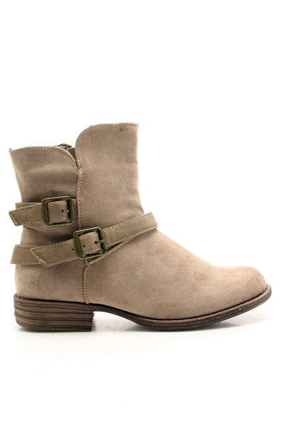 Combat The Runway Boot Beige
